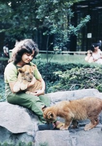 Hilda Tresz at Budapest Zoo