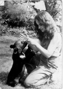 Hilda Tresz at Budapest Zoo, Photo unknown (2)
