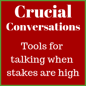 Geoff Flemming – Crucial Conversations; Tools for talking when stakes are high…