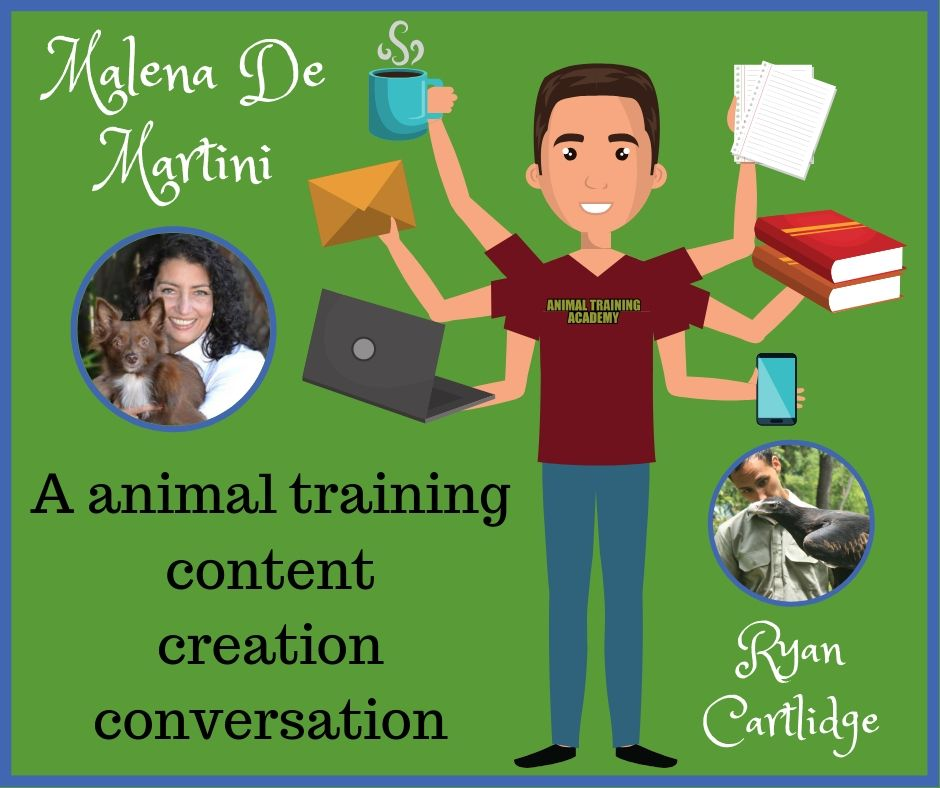 Content creation conversation with special guest host Malena De Martini …