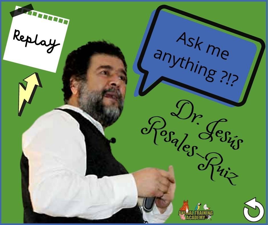 Dr. Jesús Rosales-Ruiz – LIVE Q&A
